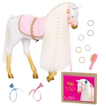 12-inch Andalusian Hair Play Horse