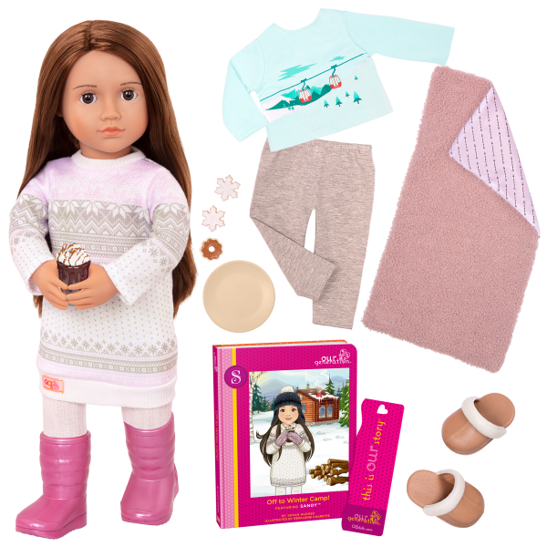 Posable 18-inch Doll Sandy