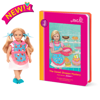 Read and Play Set 6-inch Mini Doll Jenny
