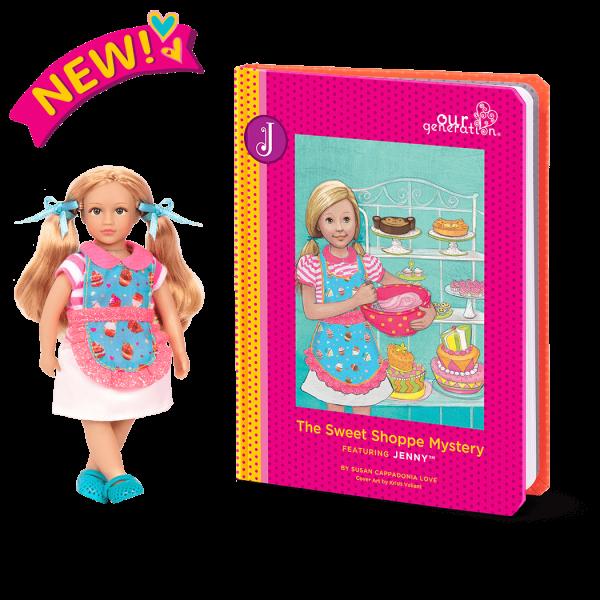 Read and Play Set 6-inch Mini Doll Jenny