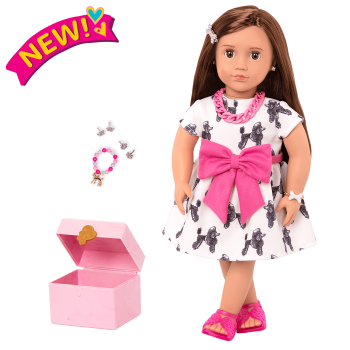 18-inch Jewelry Doll Nancy