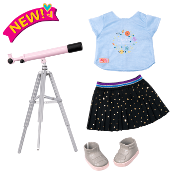 Hidden in the Stars Science Outfit for 18-inch Dolls
