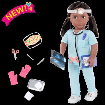 18-inch Doctor Doll Cierra
