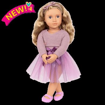 18-inch Ballerina Doll Savannah