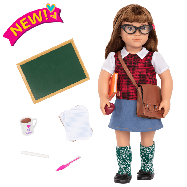 18-inch School Teacher Doll Taylor