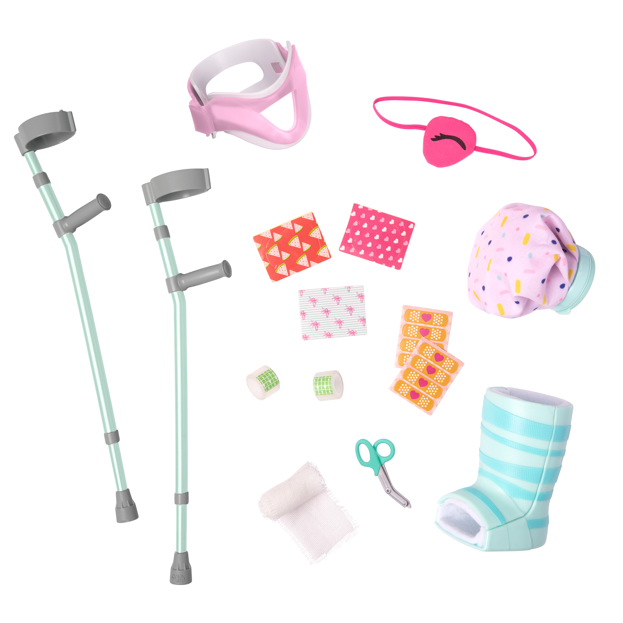 Recovery Ready Care Set for 18-inch Dolls