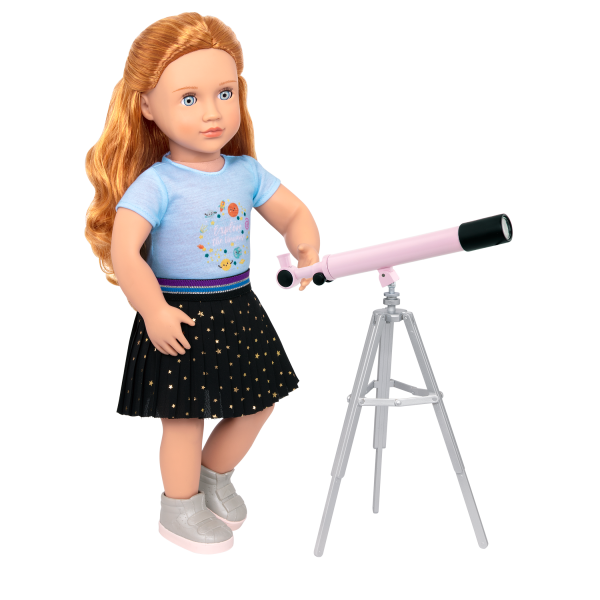 Hidden in the Stars Science Skirt and Top for 18-inch Dolls