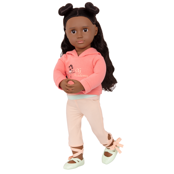 Studio Style Ballet Practice Outfit for 18-inch Dolls Macy