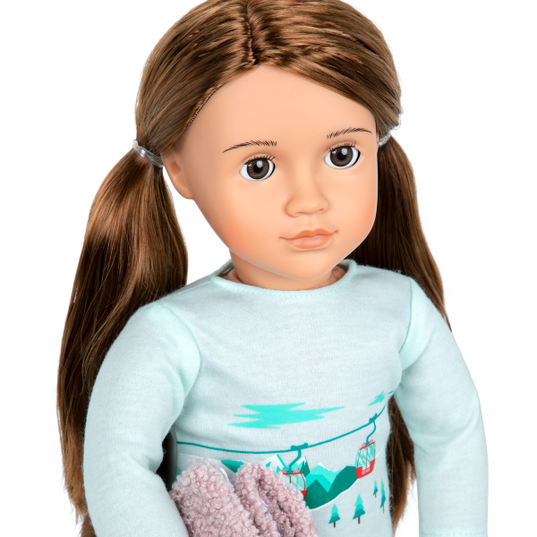 Posable 18-inch Doll Sandy Brown Hair