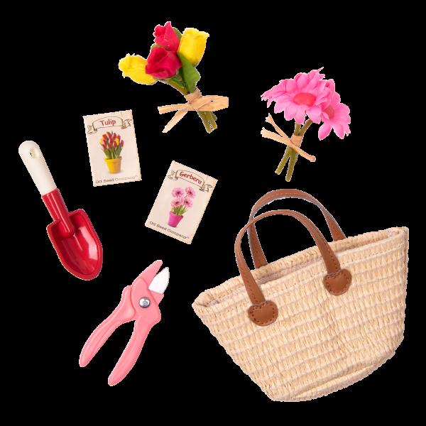 18-inch Gardening Doll Sage Garden Accessories