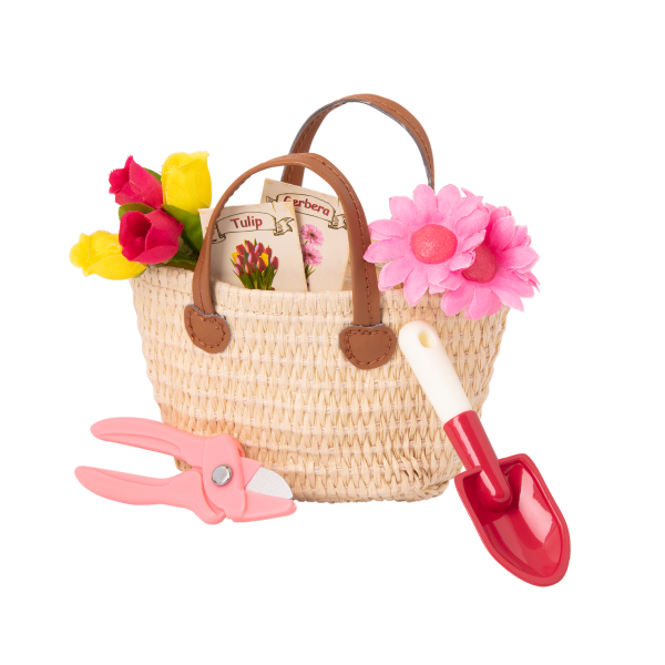 18-inch Gardening Doll Sage Tote Bag