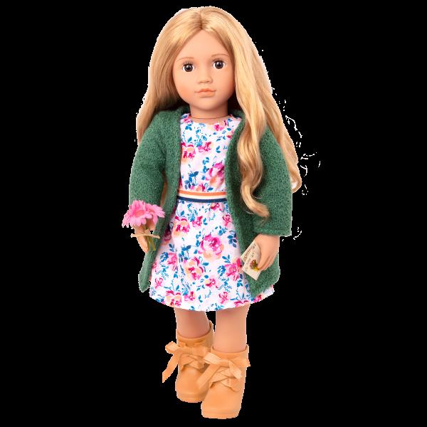 18-inch Gardening Doll Sage Blonde Hair