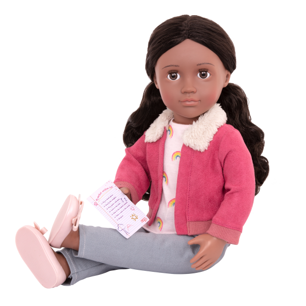 18-inch Posable Travel Doll Aryal Activity Checklist