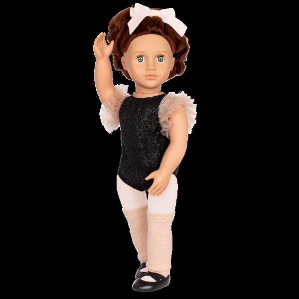 18-inch Ballerina Doll Kiera Brown Hair