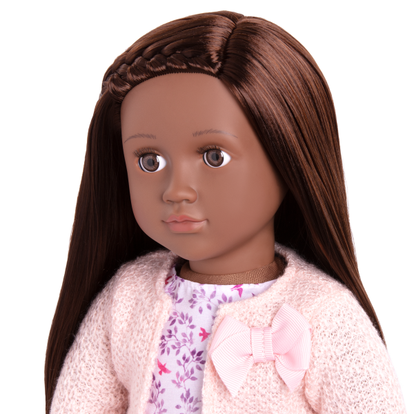 18-inch Doll Suzee Brown Hair