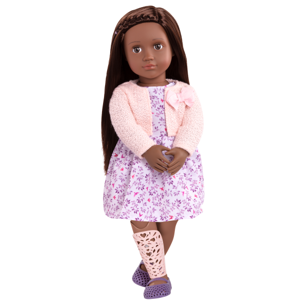 18-inch Doll Suzee Floral Dress