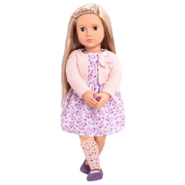 18-inch Doll Kacy Floral Dress