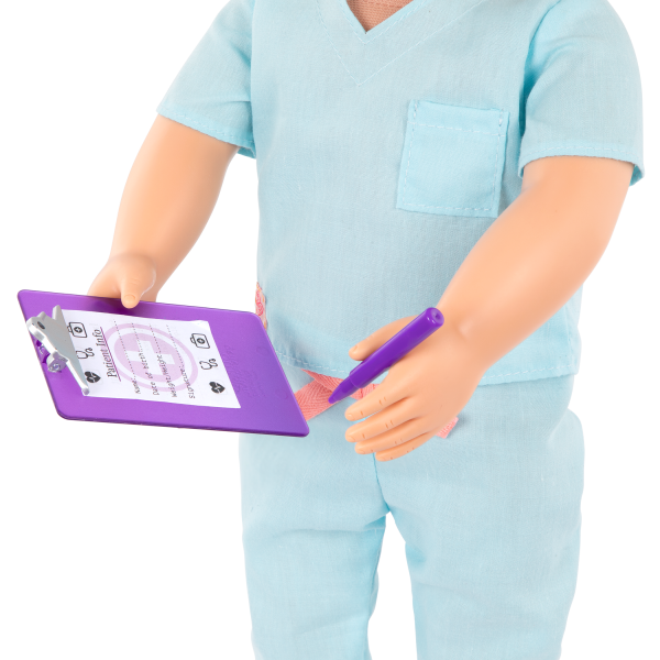 18-inch Doctor Doll Tonia Medical Accessories