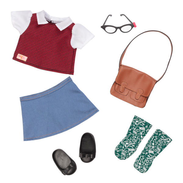 18-inch School Teacher Doll Taylor Outfit