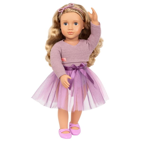 18-inch Ballerina Doll Savannah Blonde Hair