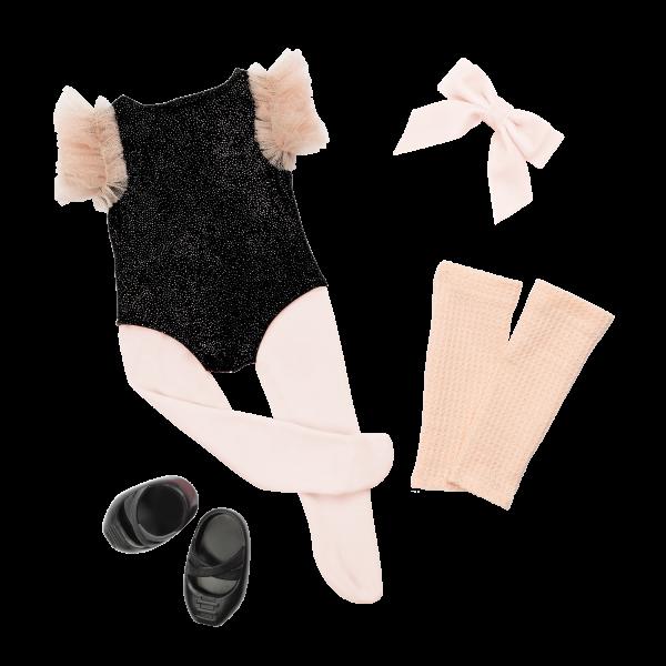 18-inch Ballerina Doll Kiera Ballet Outfit