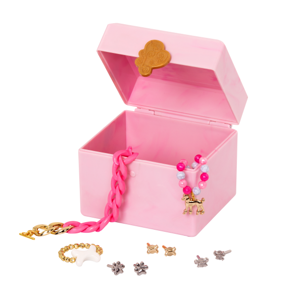 18-inch Doll Nancy Pink Jewelry Box