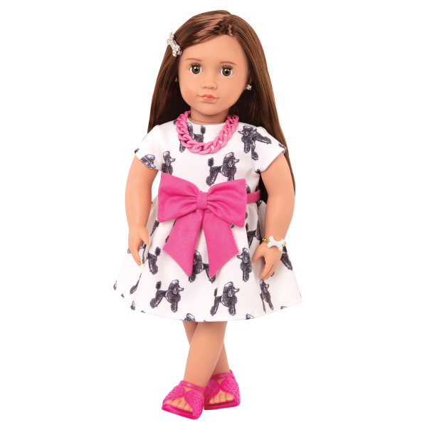 18-inch Jewelry Doll Nancy Puppy Dog Dress