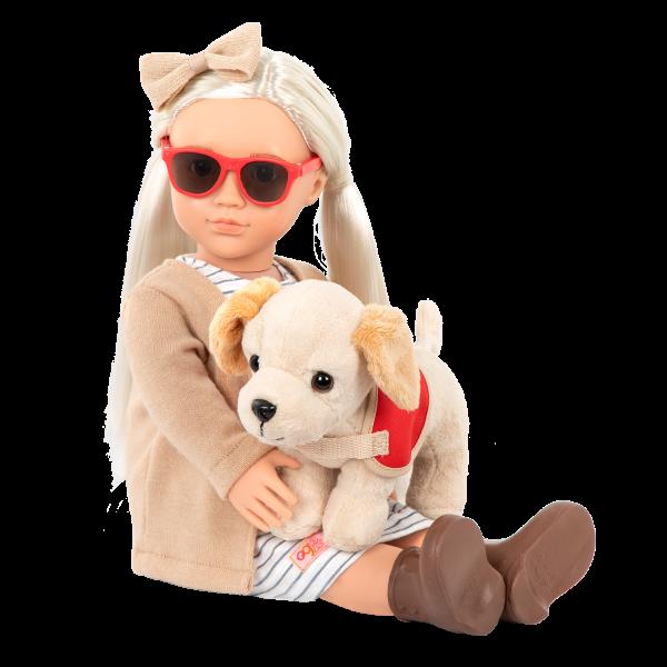 18-inch Doll Marlow Plush Dog Stuffed Animal
