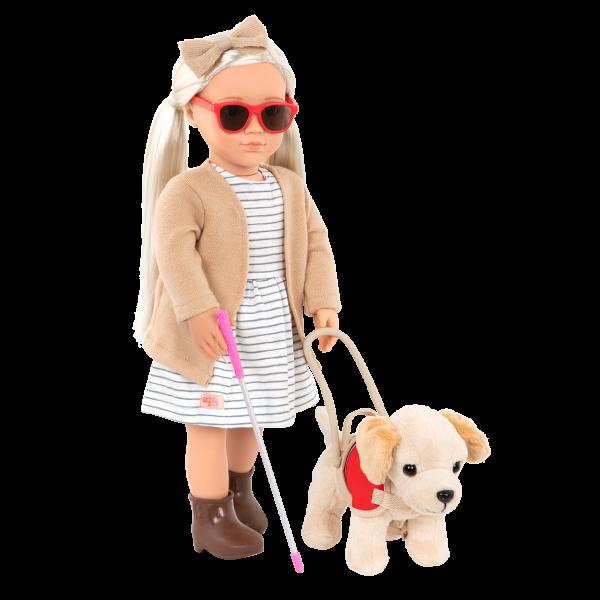 18-inch Doll Marlow Blind Cane