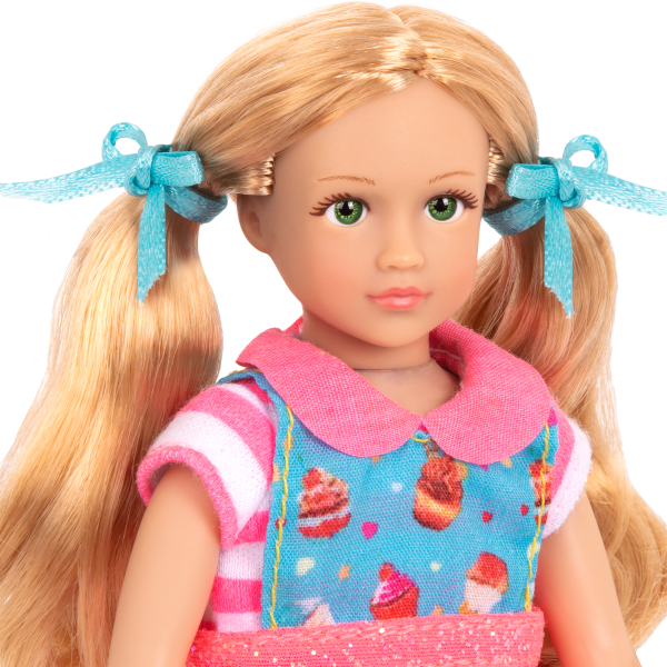 Read and Play Set 6-inch Mini Doll Jenny Blonde Hair