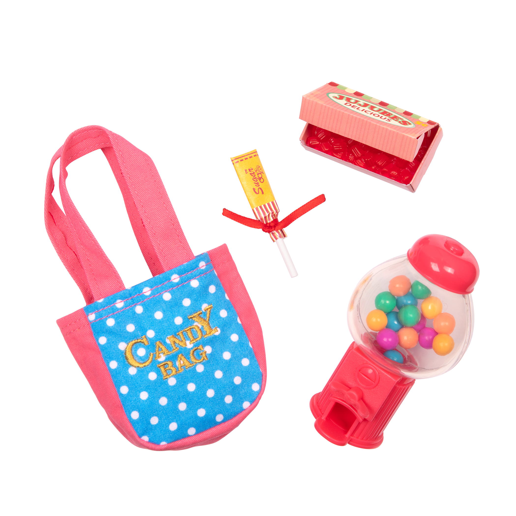 Treats and Sweets Gumball Machine for 18-inch Dolls