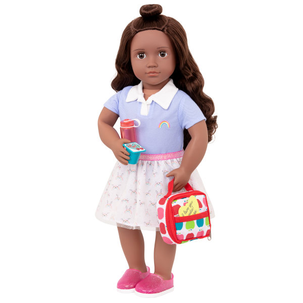 Let's Do Lunch School Bag Set for 18-inch Dolls Macy