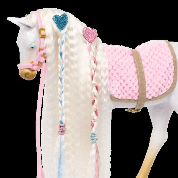 12-inch Andalusian Horse Foal Hair Elastics