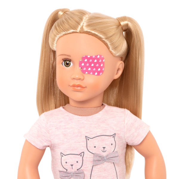 Recovery Ready Eye Patch Sticker for 18-inch Dolls