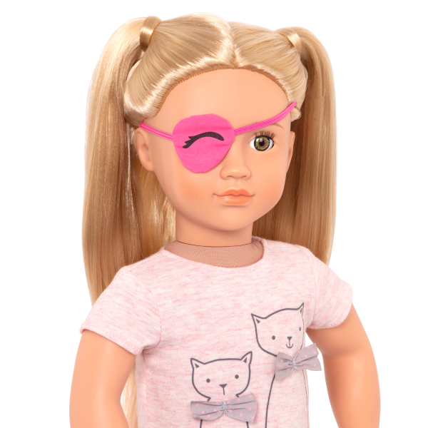 Recovery Ready Eye Patch for 18-inch Dolls