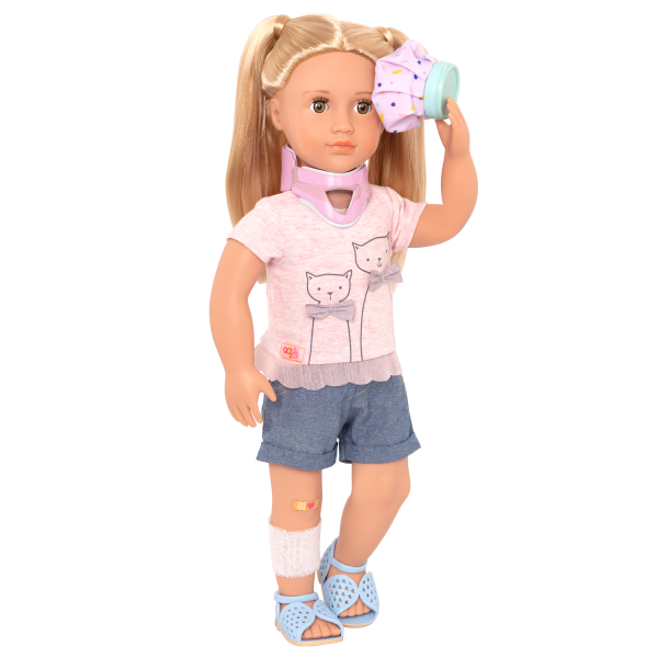 Recovery Ready Neck Brace for 18-inch Dolls