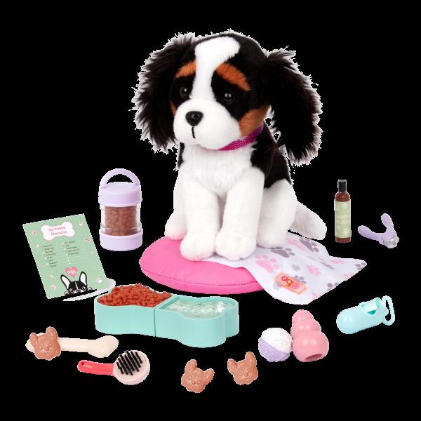 Paw Paradise Pet Care Set 12-inch Plush Dogs