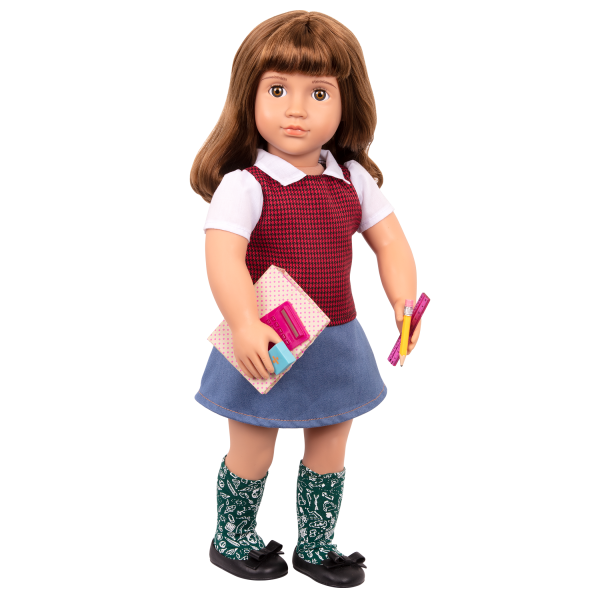 Talent and Mathematics School Supplies for 18-inch Dolls Taylor