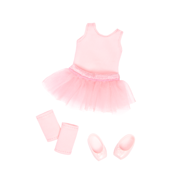 Read and Play Set 6-inch Mini Doll Sydney Lee Ballerina Outfit