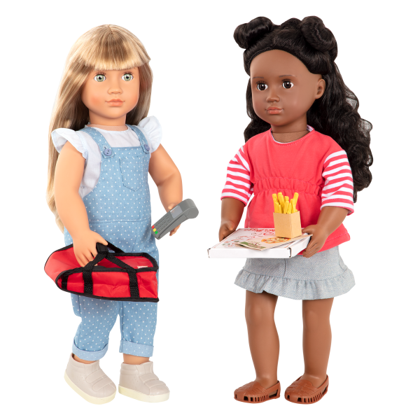 Order's Up Pizza Delivery Bag for 18-inch Dolls Macy