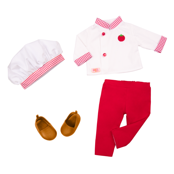 18-inch Doll Chantel Chef Hat Outfit