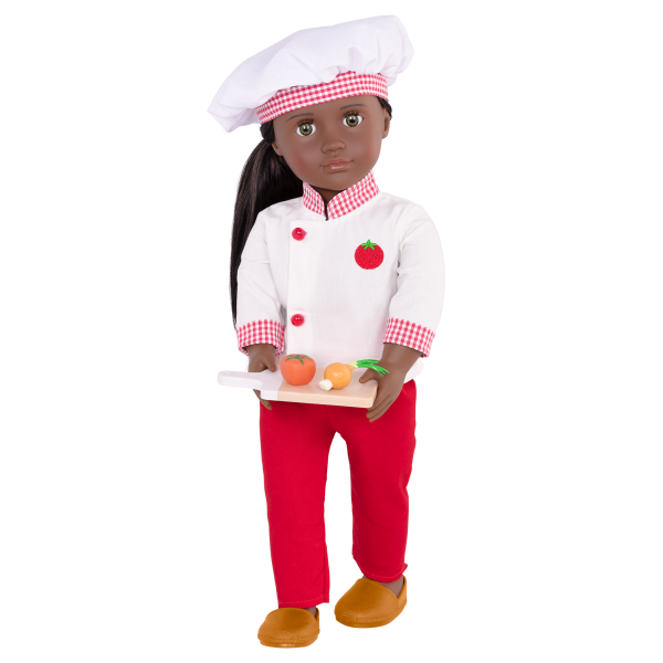 18-inch Chef Doll Chantel Play Food Accessories