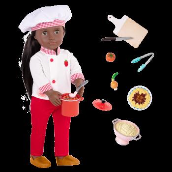18-inch Chef Doll Chantel