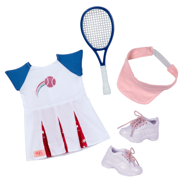Athletic Team Series 18-inch Tennis Doll Imene Outfit