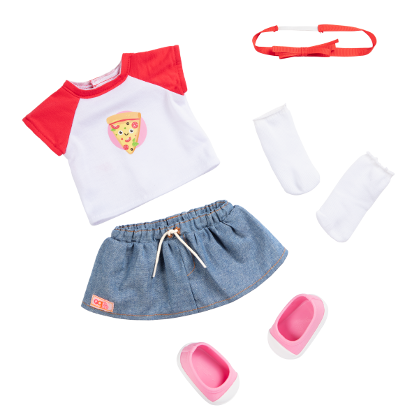 18-inch Doll Jolene Pizza Outfit