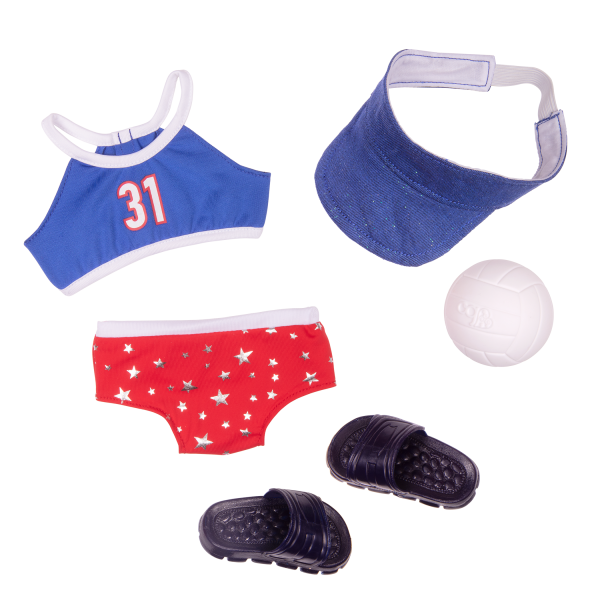 Athletic Team Series 18-inch Volleyball Doll Magnolia Outfit