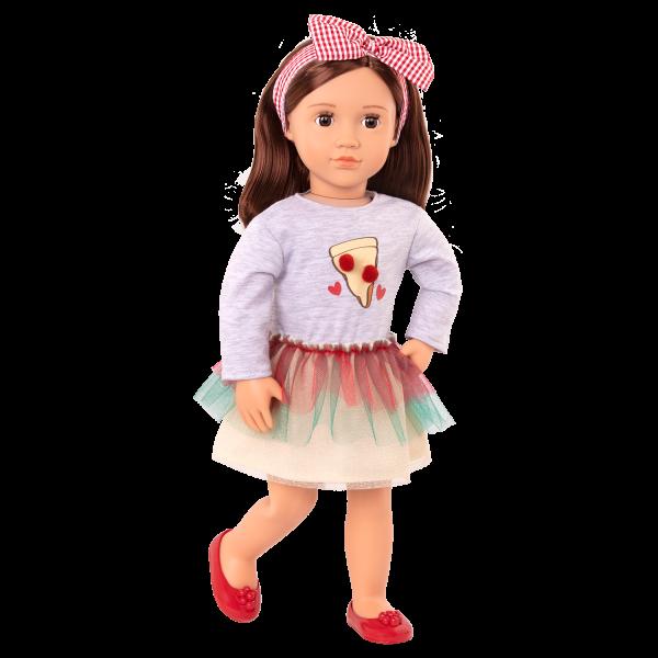 Posable 18-inch Doll Francesca