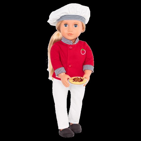 18-inch Chef Doll Chiara Play Food Accessories