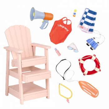 Lifeguard Playset for 18-inch Dolls
