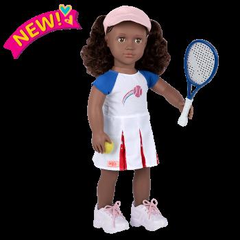 Athletic Team Series 18-inch Tennis Doll Imene